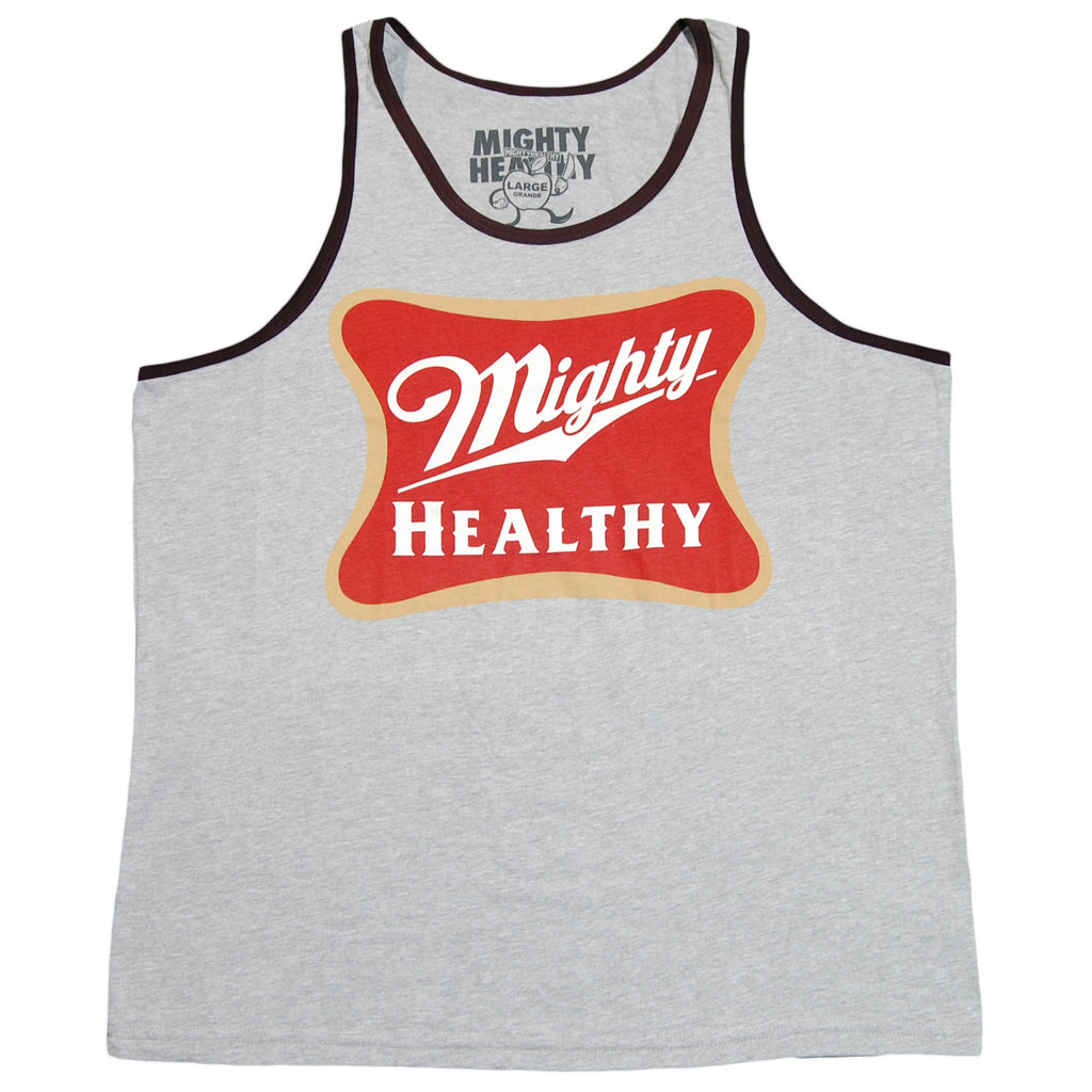 <!--2012061951-->Mighty Healthy - 'Trife Life' [(Gray) Tank Top]