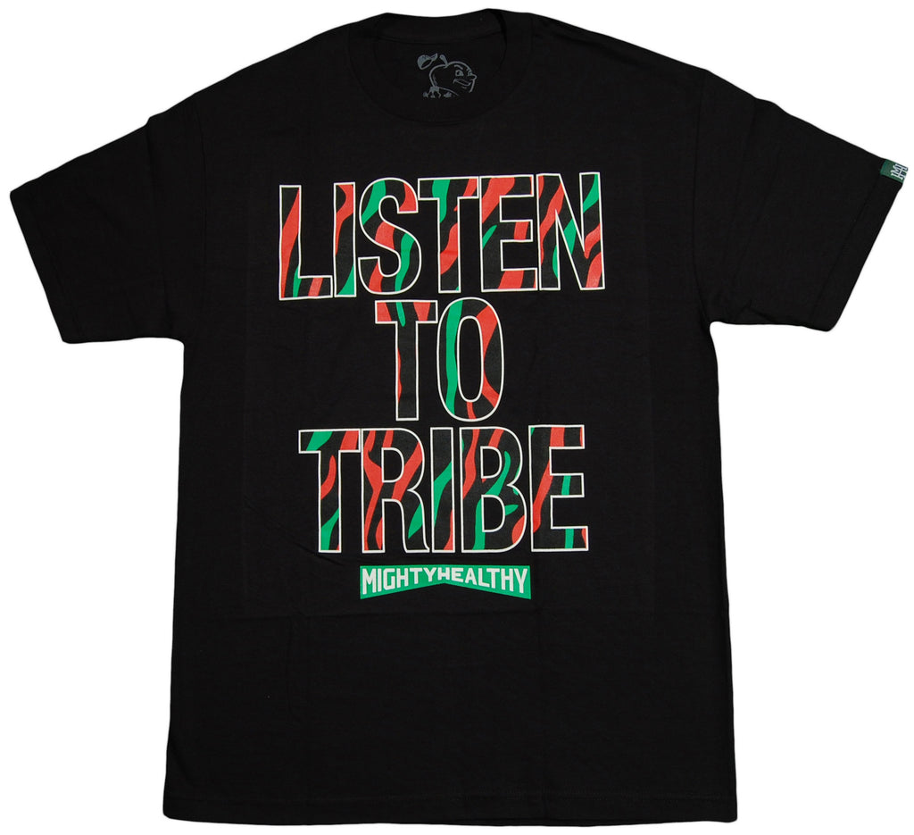<!--2013100118-->Mighty Healthy (A Tribe Called Quest) - 'Tribe' [(Black) T-Shirt]