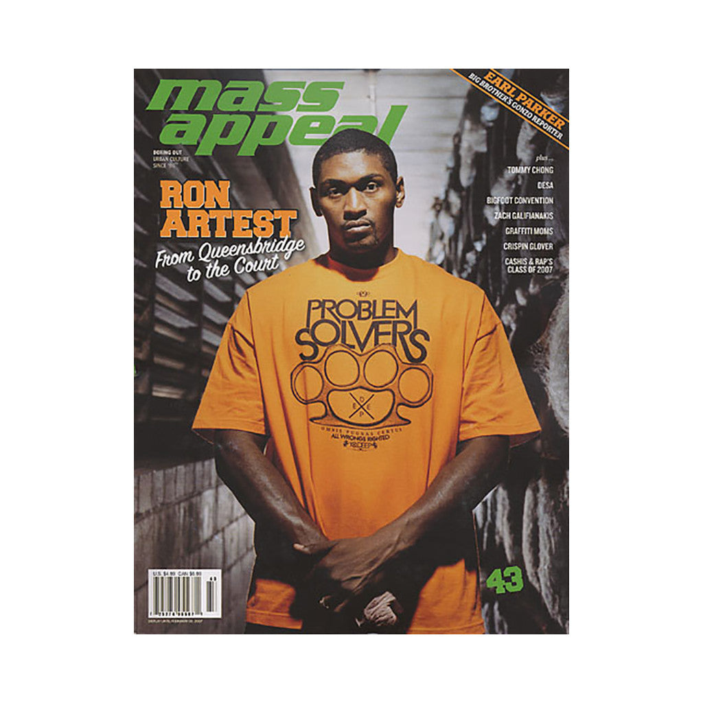 <!--020061226002260-->Mass Appeal - 'Issue 43' [Magazine]