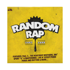 Various Artists - 'Random Rap: 1987-1988' [(Black) Vinyl LP]