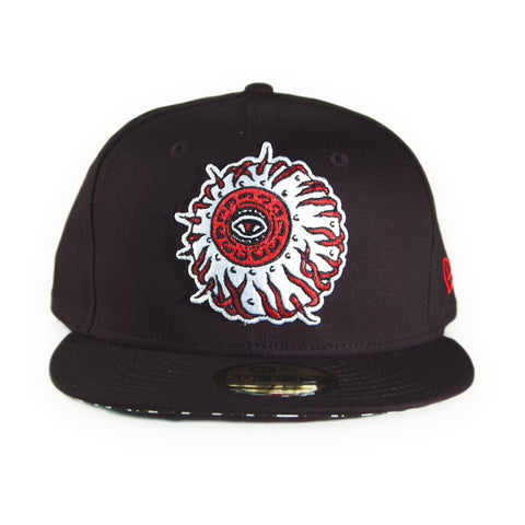 Mishka NYC x Michel Langevin - 'Away Keep Watch' [(Black) Fitted Hat]