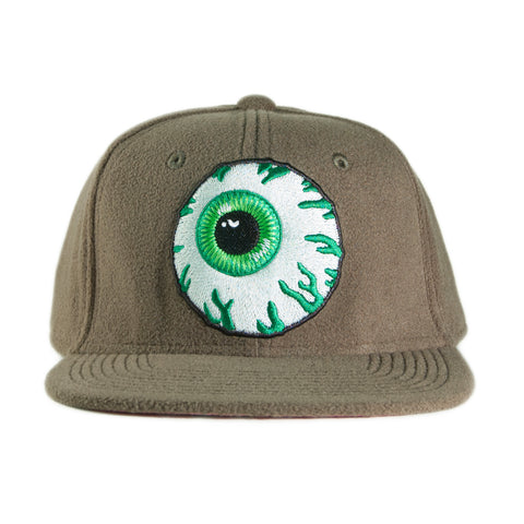Mishka NYC - 'Keep Watch Fleece Mililtary' [(Dark Green) Snap Back Hat]