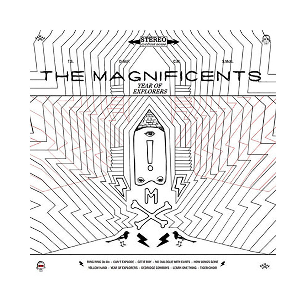 The Magnificents - 'Year Of Explorers' [CD]