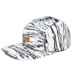 <!--020140813065144-->Mishka NYC - 'L'amour Entombed' [(White) Five Panel Camper Hat]