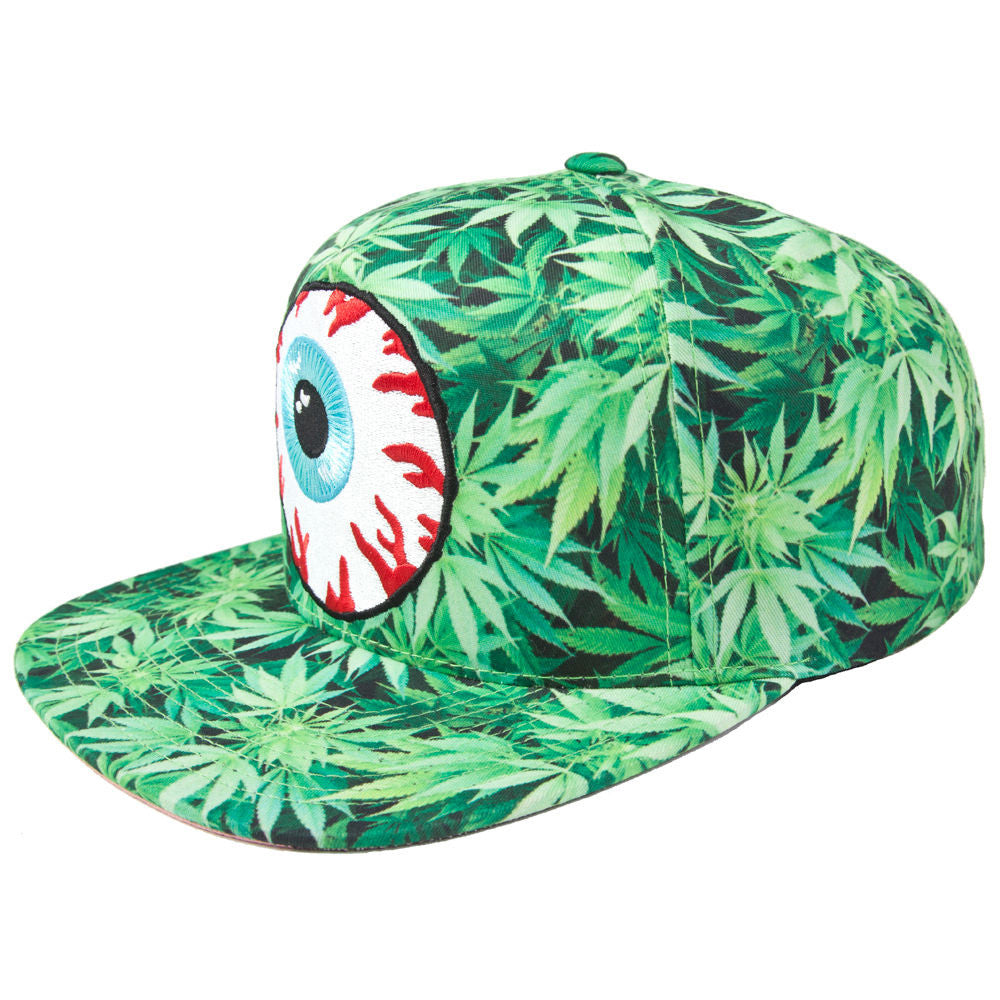 Mishka NYC - 'Secret Garden Keep Watch' [(Green) Snap Back Hat]