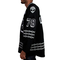 <!--2014110558-->Mishka NYC - 'Aftershock Hockey' [(Black) Jersey]