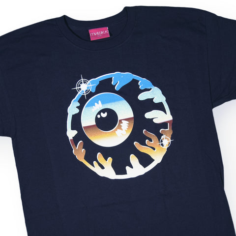 Mishka NYC - 'Chrome Keep Watch' [(Dark Blue) T-Shirt]