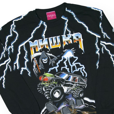 Mishka NYC - 'Top Truck' [(Black) Long Sleeve Shirt]