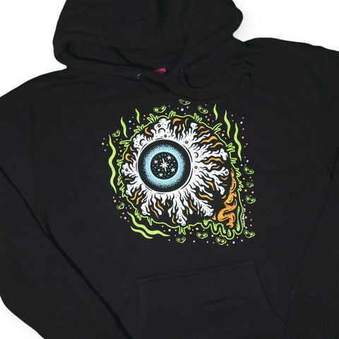 Mishka NYC - 'Tallboy Keep Watch' [(Black) Hooded Sweatshirt]