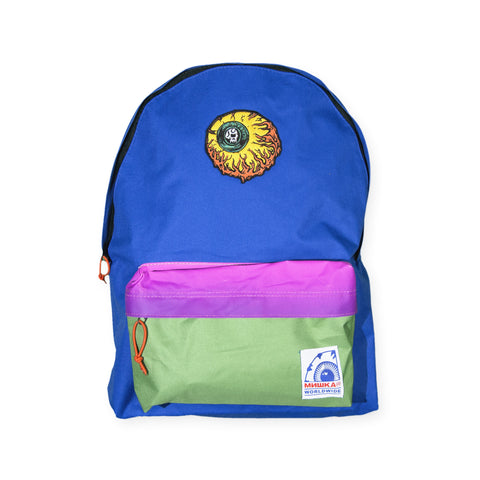Mishka NYC - 'L'amour Keep Watch' [(Blue) Backpack]