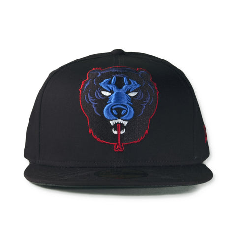 Mishka NYC - 'Heritage Death Adder' [(Black) Fitted Hat]
