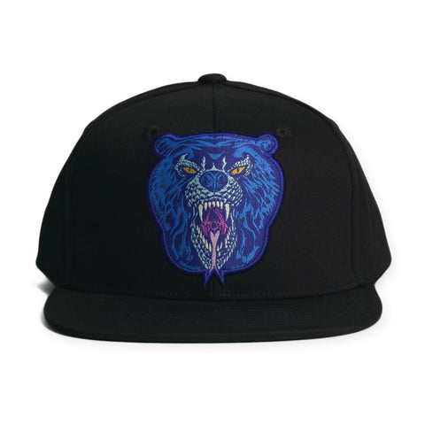 Mishka NYC - 'L'amour Death Adder' [(Black) Snap Back Hat]