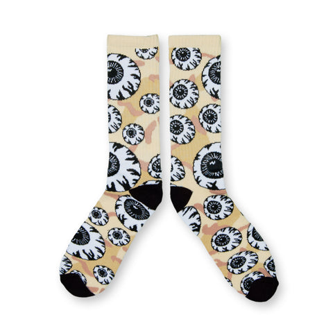 Mishka NYC - 'Keep Watch Pattern' [(Camo Pattern) Socks]