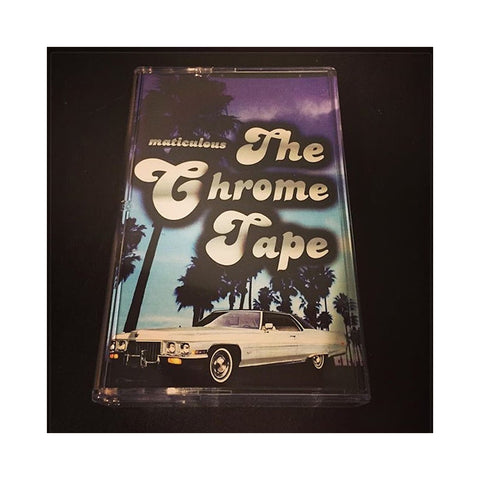"[""maticulous - 'The Chrome Tape' [(Chrome) Cassette Tape]""]"