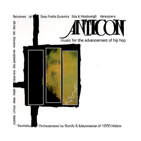 Anticon Presents - 'Music For The Advancement Of Hip Hop' [CD]