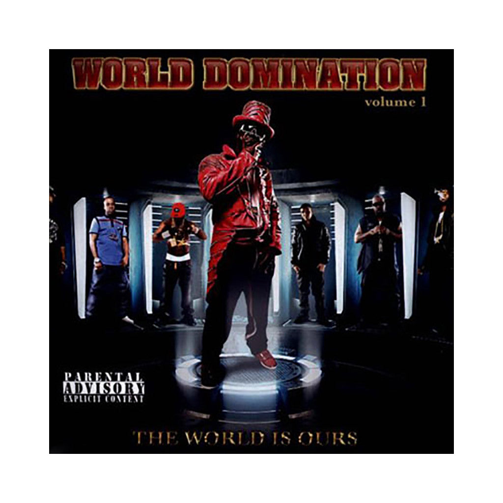 <!--120130514056320-->Various Artists - 'World Domination Vol. 1: The World Is Ours' [CD]