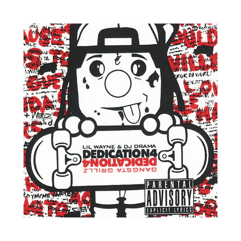 "[""Lil Wayne & DJ Drama - 'Dedication Pt. 4' [CD]""]"