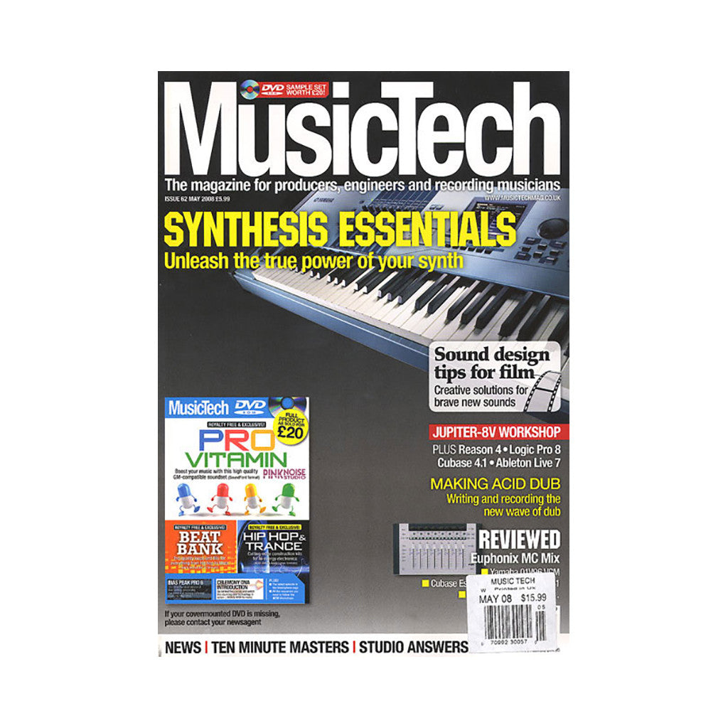 Music Tech Magazine - 'Issue 62, May 2008' [Magazine]