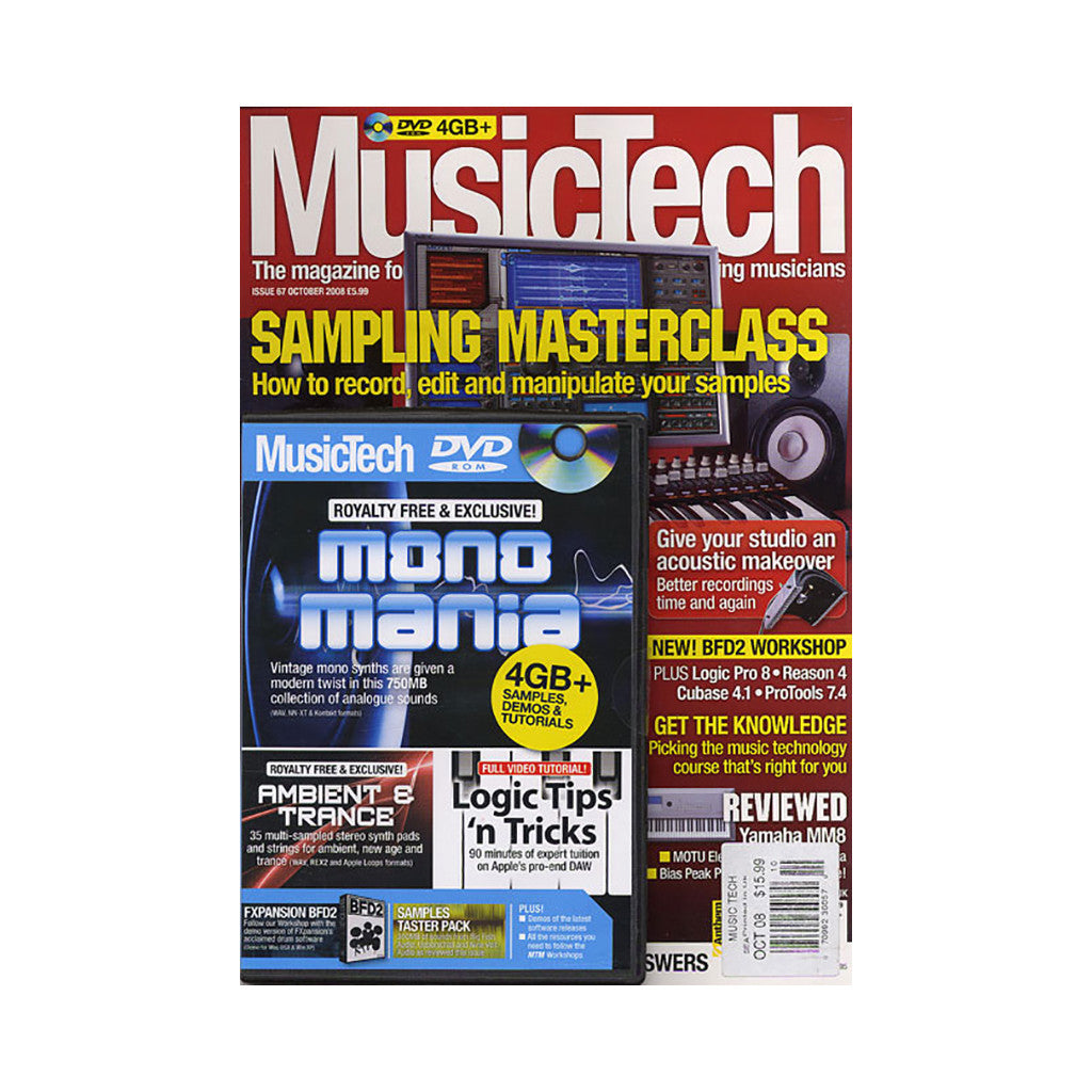 <!--020081028015243-->Music Tech Magazine - 'Issue 67, October 2008' [Magazine]
