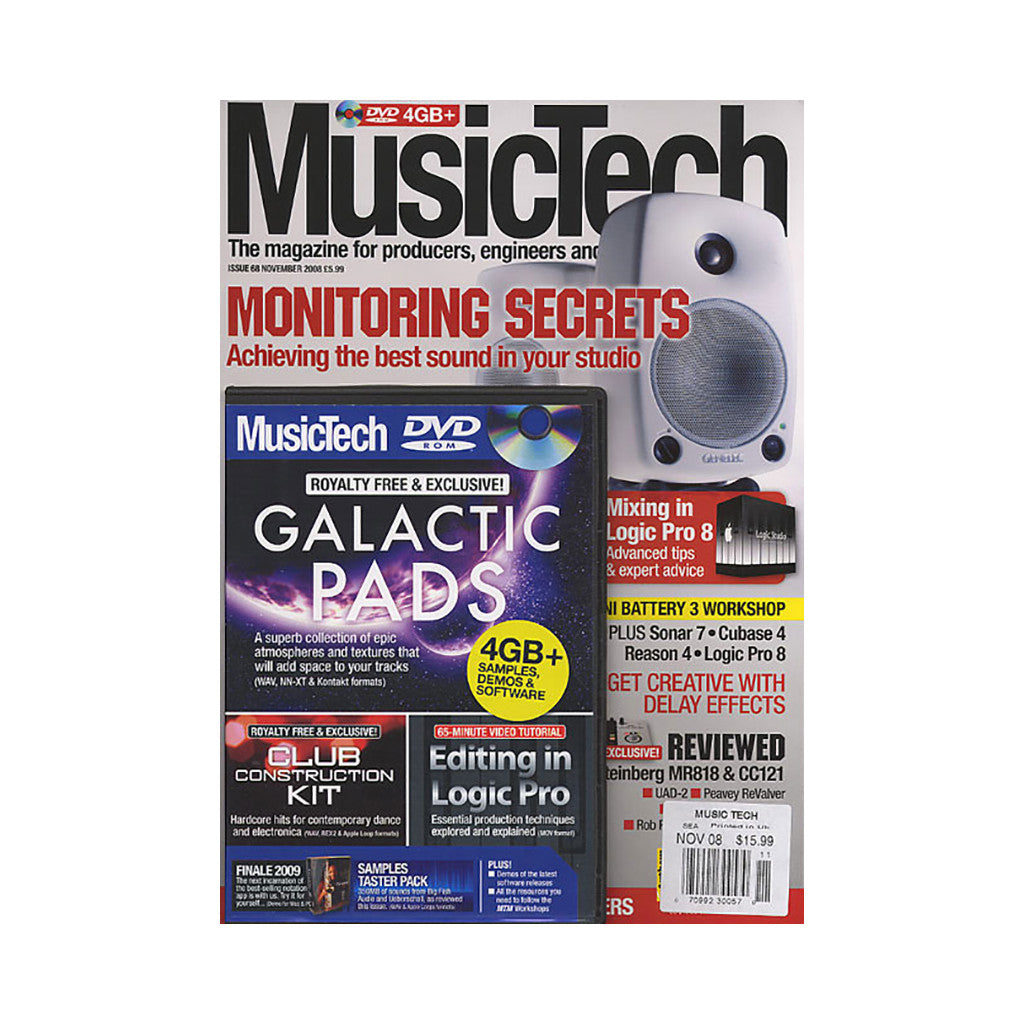 <!--020081118015458-->Music Tech Magazine - 'Issue 68, November 2008' [Magazine]