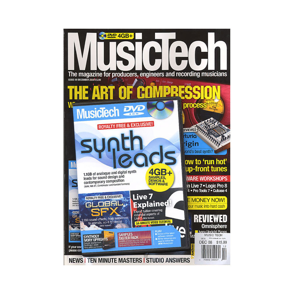 <!--020090106015739-->Music Tech Magazine - 'Issue 69, December 2008' [Magazine]