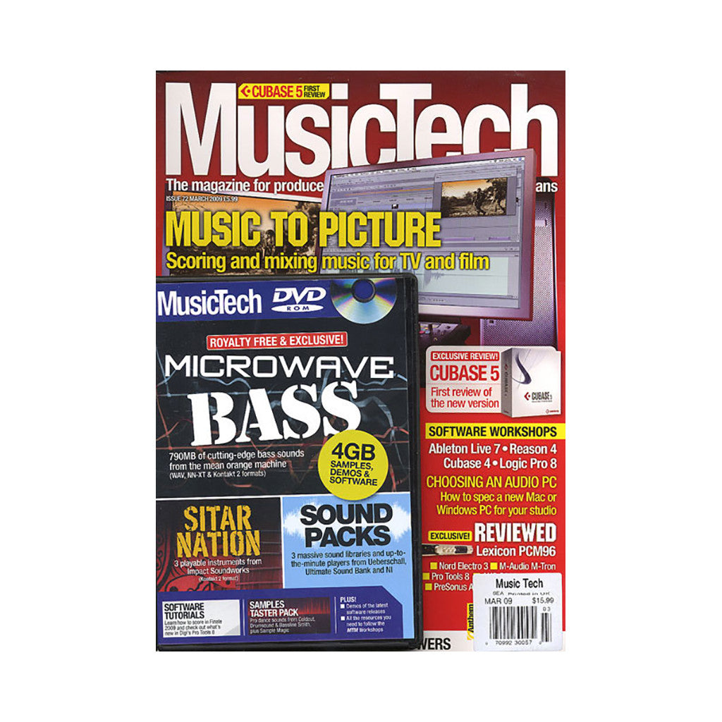 <!--020090407016583-->Music Tech Magazine - 'Issue 72, March 2009' [Magazine]