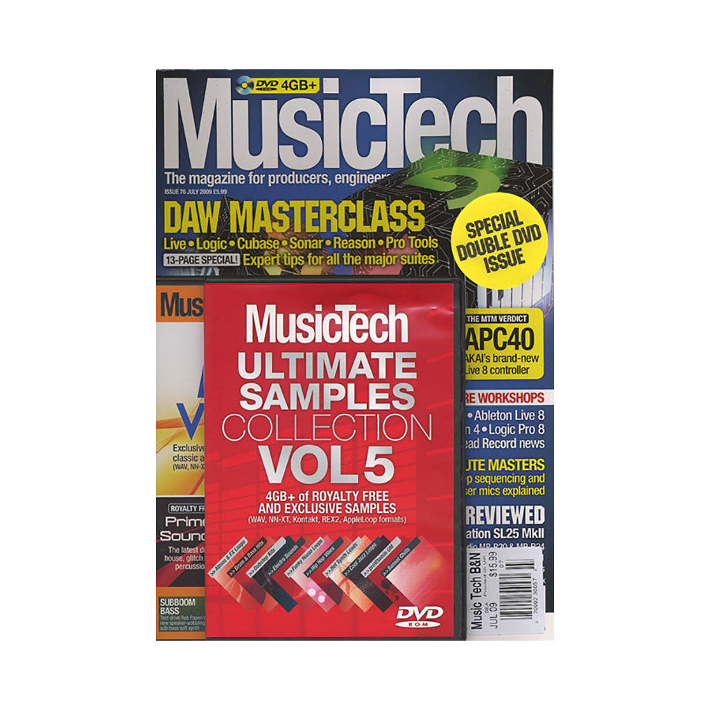 <!--020090804017861-->Music Tech Magazine - 'Issue 76, July 2009' [Magazine]