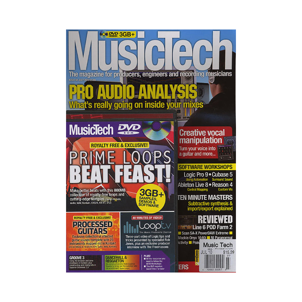 <!--020100713022316-->Music Tech Magazine - 'Issue 88, July 2010' [Magazine]