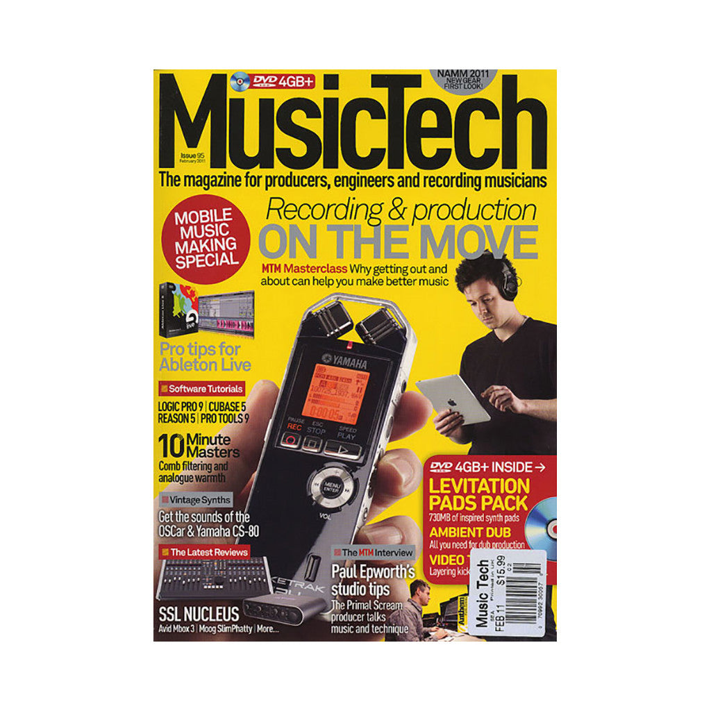 <!--020110222027912-->Music Tech Magazine - 'Issue 95, February 2011' [Magazine]