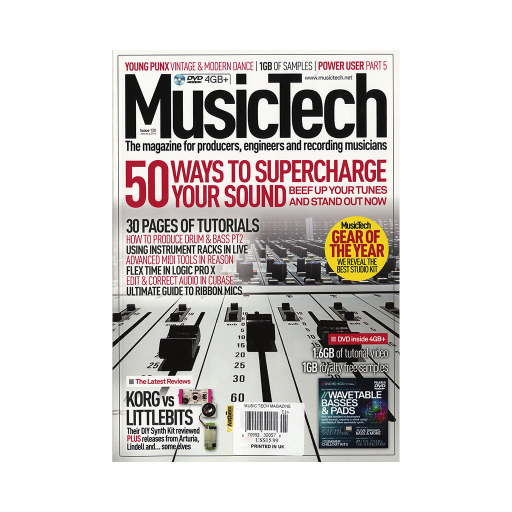 <!--020140220062460-->Music Tech Magazine - 'Issue 130, January 2014' [Magazine]