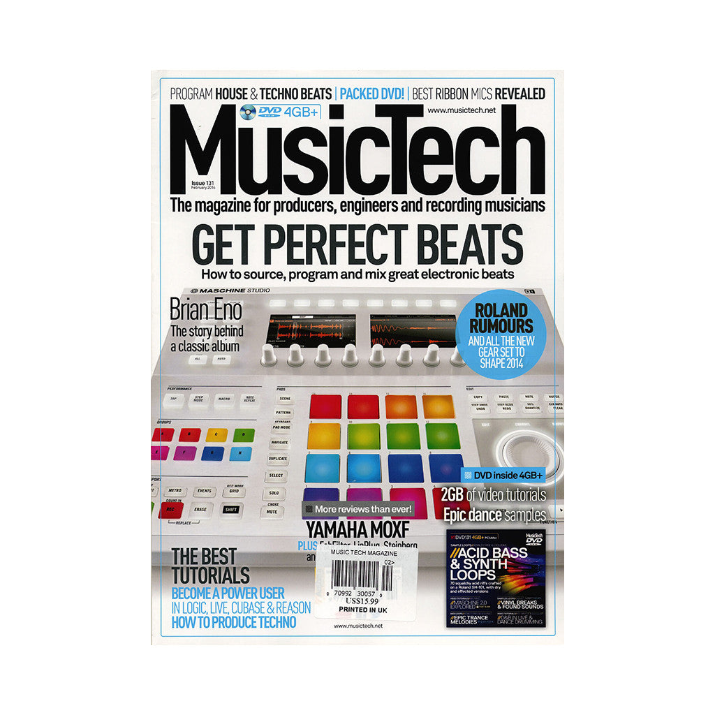 Music Tech Magazine - 'Issue 131, February 2014' [Magazine]