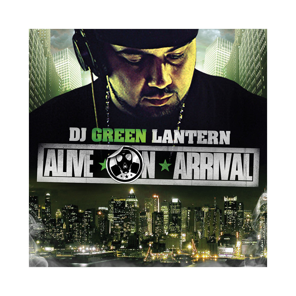 <!--020060801007951-->DJ Green Lantern - 'Alive On Arrival' [CD]