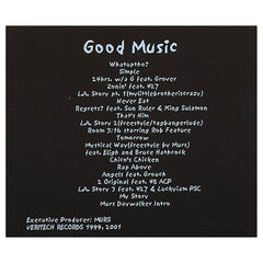 Murs - 'Good Music' [CD]