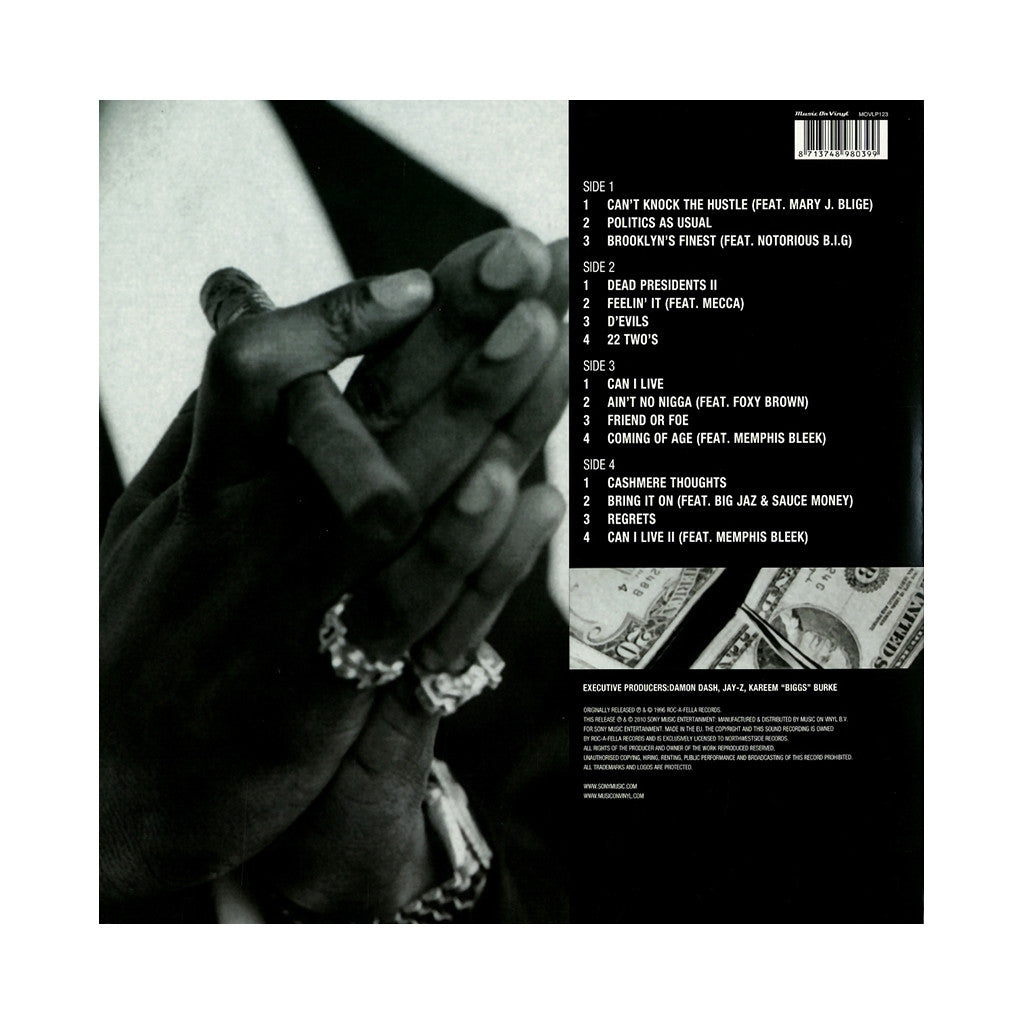 Jay z reasonable doubt vinyl lp release date tracklisting jay z reasonable doubt import black vinyl malvernweather Gallery