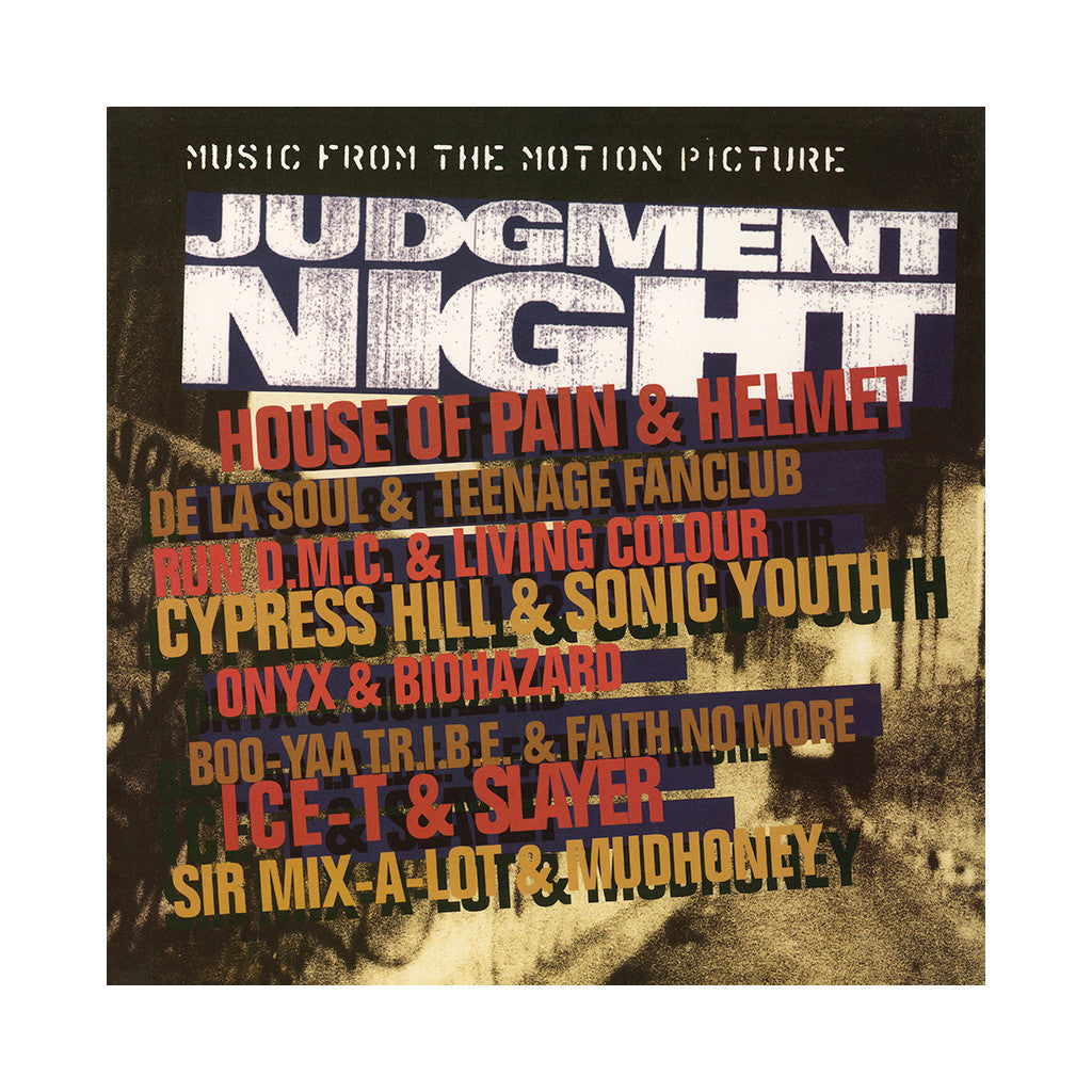 Various Artists - 'Judgement Night (Music From The Motion Picture)' [(Black) Vinyl LP]