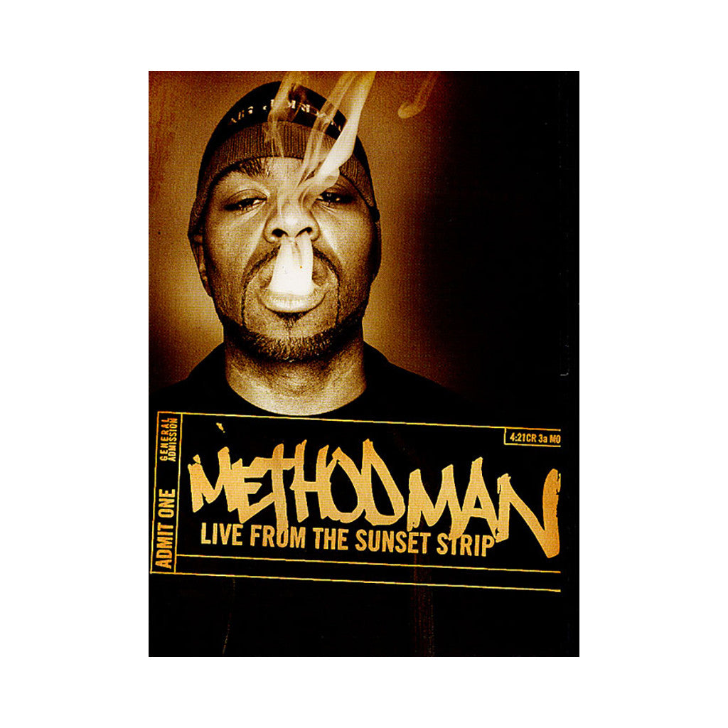<!--020071106011015-->Method Man - 'Live From The Sunset Strip' [DVD]