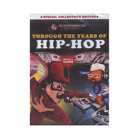 "[""Through The Years Of Hip Hop - 'Vol. 1: Graffiti' [DVD]""]"