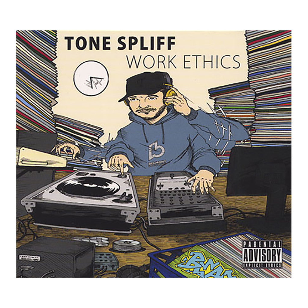 <!--020110614027661-->Tone Spliff - 'Work Ethics' [CD]