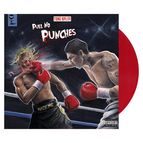 Tone Spliff - 'Pull No Punches' [(Red) Vinyl LP]