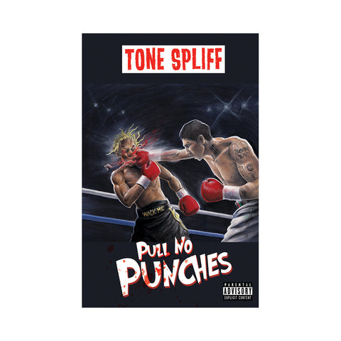 Tone Spliff - 'Pull No Punches' [(Chrome Blue) Cassette Tape]