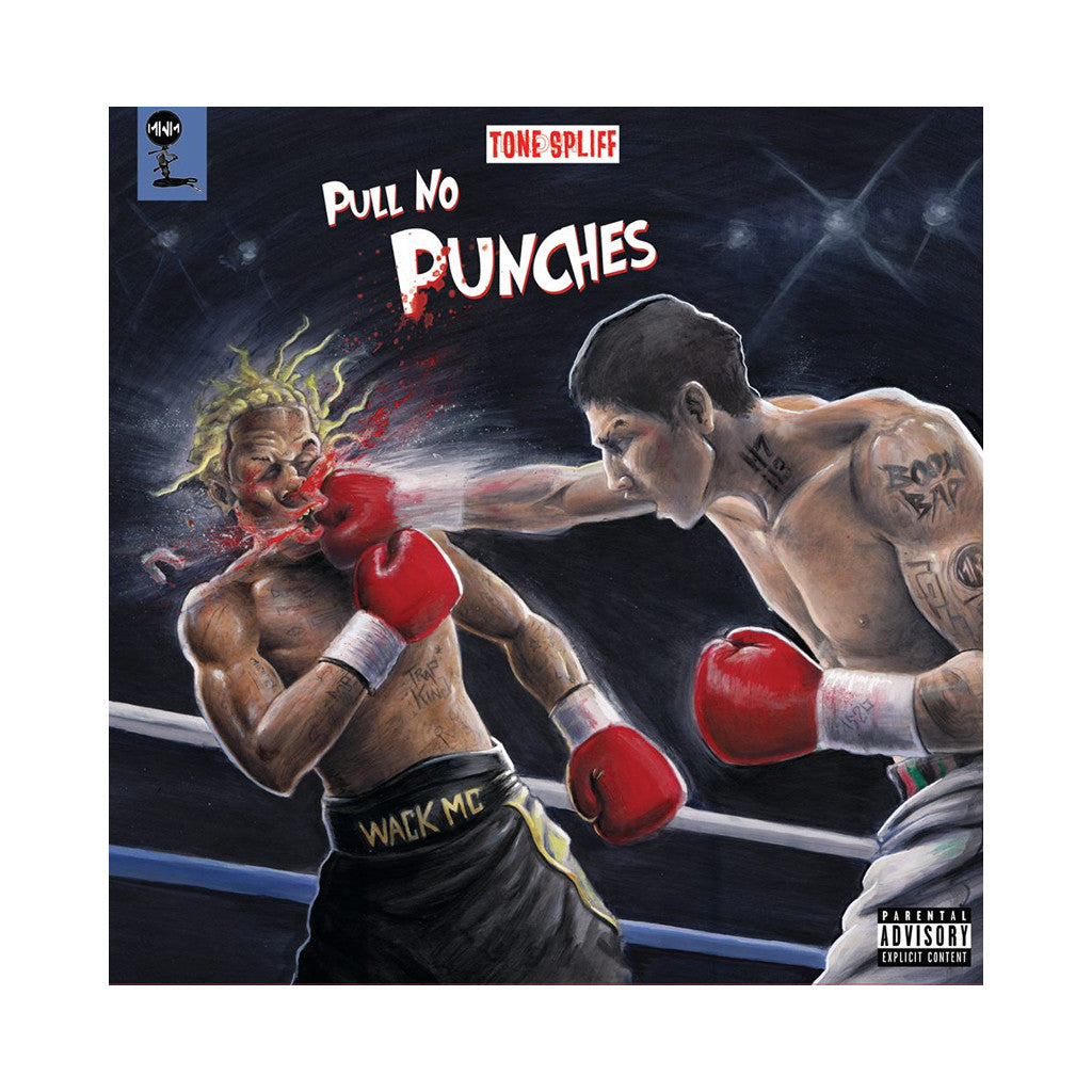 Tone Spliff - 'Pull No Punches' [(Black) Vinyl LP]