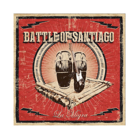 Battle Of Santiago - 'La Migra' [CD]
