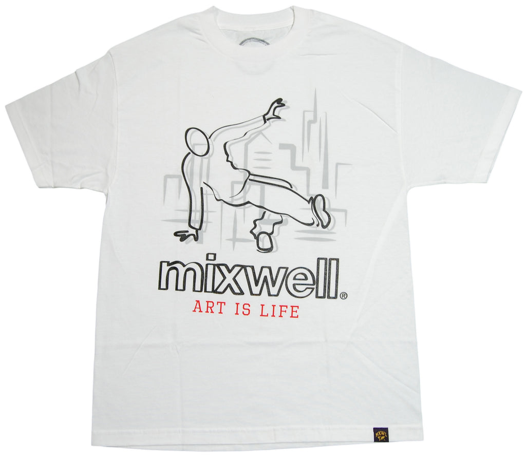 <!--2012103017-->Mixwell - 'Sharpie' [(White) T-Shirt]