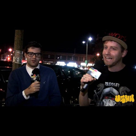 Mayer Hawthorne - 'Interview Pt. 1 (Outside Of Great Scott - Allston, MA - 9/29/09)' [Video]