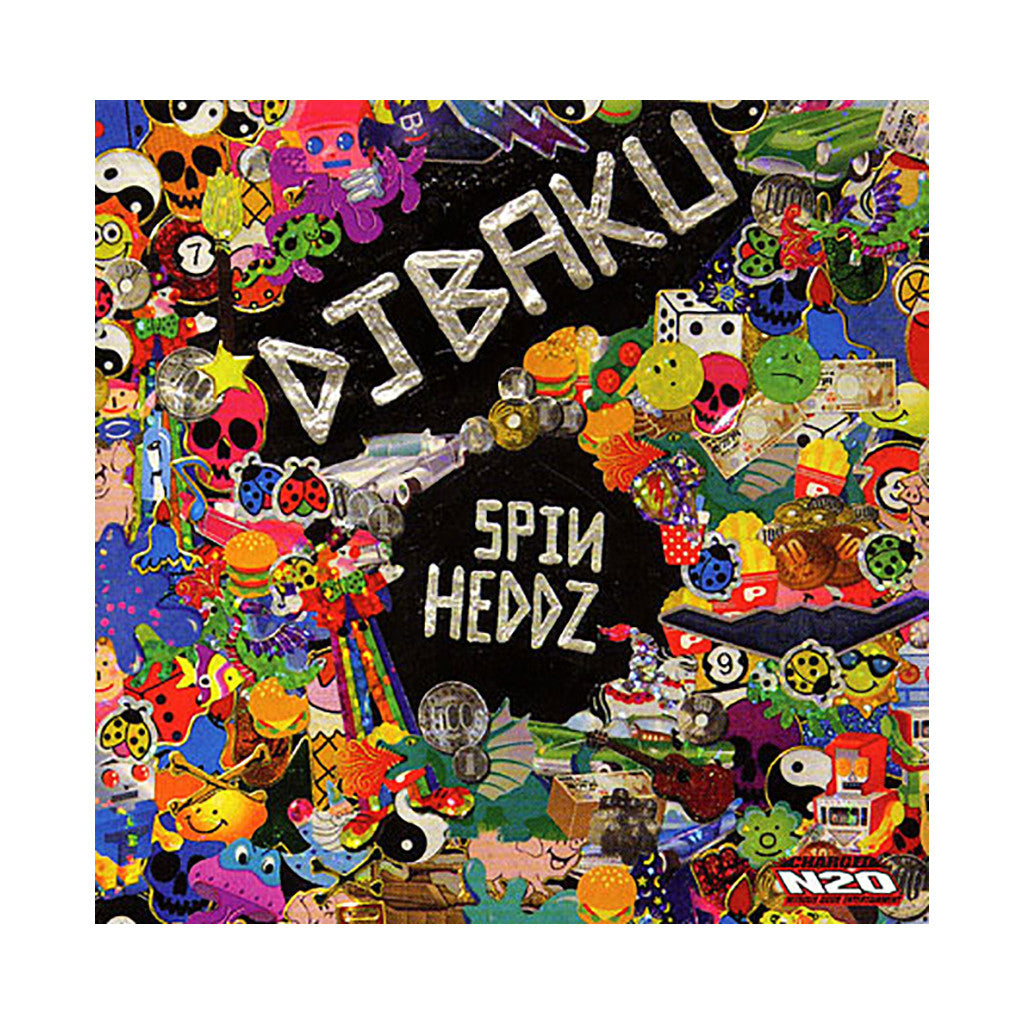 DJ Baku - 'Spinheddz' [CD]