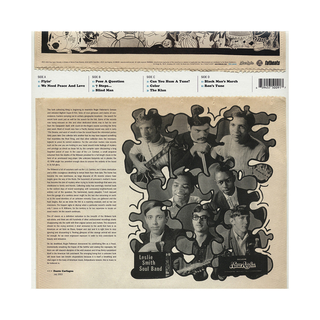 L.A. Carnival - 'Would Like To Pose A Question' [(Black) Vinyl [2LP]]