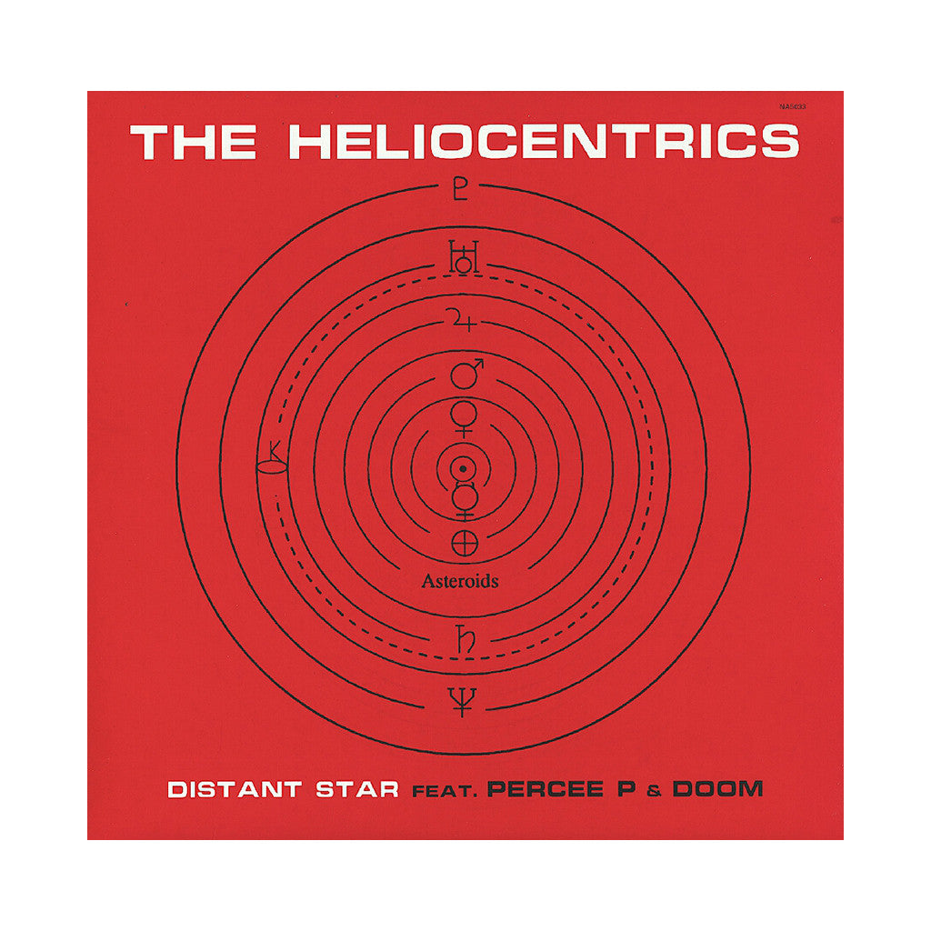 "The Heliocentrics - 'Distant Star/ Distant Star (Strange Version)/ Space Time Girl' [(Black) 12"" Vinyl Single]"