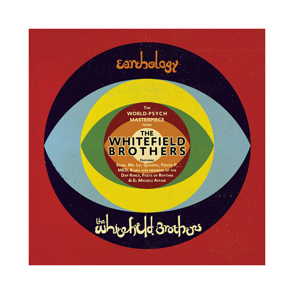 Whitefield Brothers - 'Earthology' [(Black) Vinyl [2LP]]