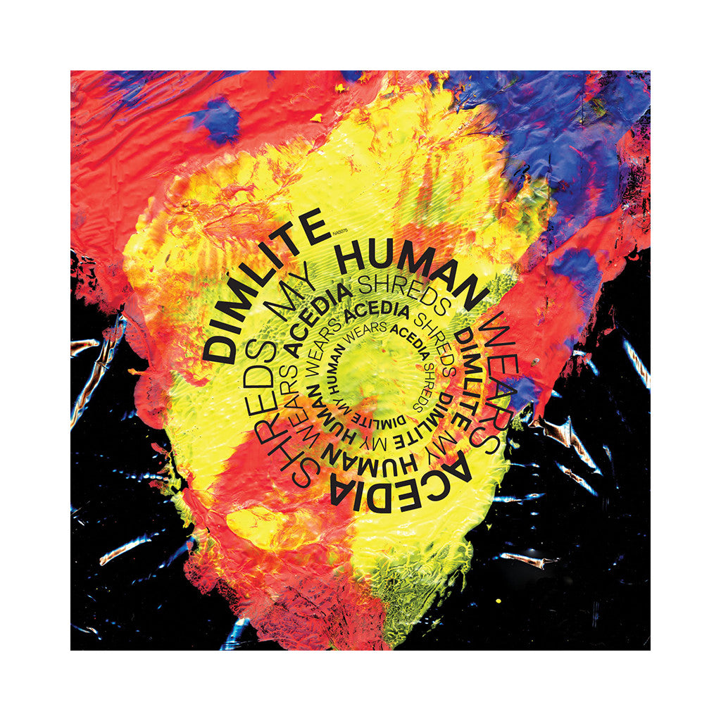 "Dimlite - 'My Human Wears Acedia Shreds' [(Black) Vinyl [10""]]"