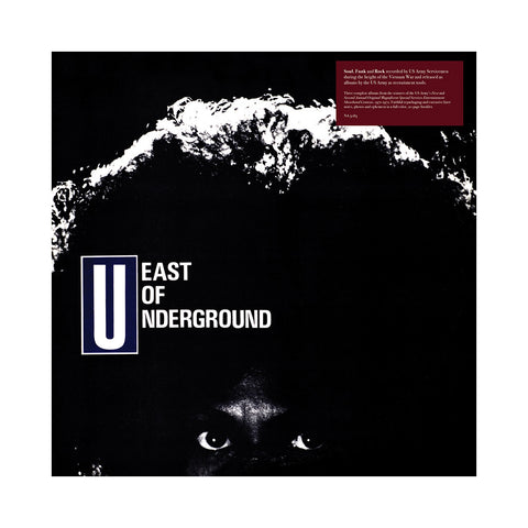 "[""East Of Underground - 'Hell Below (East Of Underground + SOAP + The Black Seeds + The Sound Trek)' [(Black) Vinyl [3LP]]""]"
